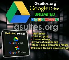 Gsuites.org - Unlimited Google Drive Storage (Lifetime Access) 100% Guaranteed.