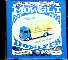 """Mowgli and the Donuts : 3 CDs incl """"Distribution/Refrigeration"""" + art posters"""