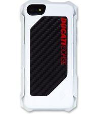 Ducati Corse Rogue Handy Cover  I-Phone 5  / 5S  Schutz Carbon Weiß elementcase