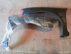 Plastic fenders with gills Nissan pulsar/almera n15