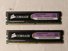 CORSAIR CM2X1024-6400 5-5-5-12 800MHZ 1024MB XMS2-6400 DDR2 Desktop Mem Ram (2)