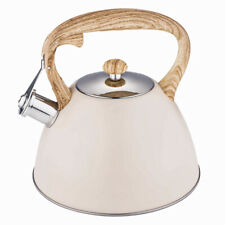 Whistling Kettle 3.0L Stainless Steel Induction Gas Stove Modern Gift Fast Boil