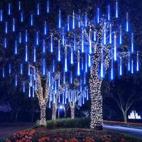 30cm 48/96/120LED Meteor Shower Rain Tree Tubes String Light Xmas Street Decor