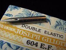Joseph Gillott's 604 E F Dip Pen Nibs, Gillotts, Joseph Gillott's Double Elastic