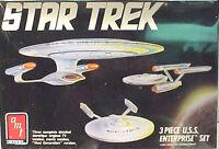Vintage STAR TREK Enterprise Evolution 3 Model Kit-AMT ERTL  (STMO-6618)