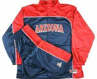 VTG Nike Arizona Wildcats Mens Basketball Warmup Full Suit Size 2XL/XL