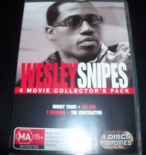 Wesley Snipes 4 Movie DVD (The Fan Money Train) (Aust Region 4) DVD – Like New