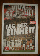Programm Stadionzeitung FC St.Pauli 1.FC Union 4.10.2014
