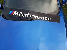 BMW M Performance Frontscheiben Aufkleber Schutzfolie Motorsport Tuning 135x19cm