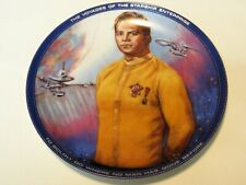 STAR TREK CAPTAIN KIRK THE HAMILTON COLLECTION PLATE 1983 VERY GOOD CONDITION!!!