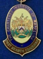 Silver Gilt & Enamel Medal, The Chartered Institute of Marketing