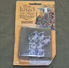 Vintage Lot 25mm Metal Heritage Lord of the Rings Black Uruk Hai  Orcs 1970s