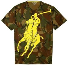 Polo Ralph Lauren Military Army Camo Big Pony ThermoVent Base Camp Tee T Shirt S