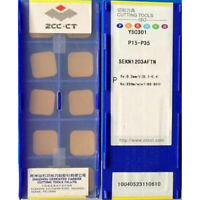 ZCC.CT SEKN1203AFTN YBC301 SEKN42 CARBIDE INSERTS milling blade 10PCS / 1box