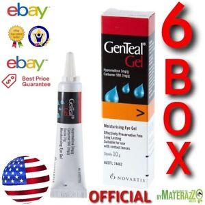 GenTeal Gel Tout Neuf USA 6 Paquet Officiel Exp 03/2023 Sec Eye Soulagement