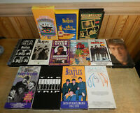 Lot of 13 BEATLES VHS Tapes Video Cassette Tapes