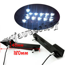 Benz Style White 6 LED L Shaped Daytime Running Lights DRL Mercedes-Benz Style