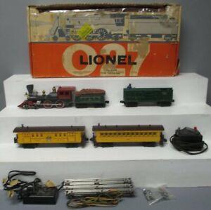 Lionel 1644 Vintage O 1862 Frontier Special Passenger Set w/1862T,3370,1866,1865