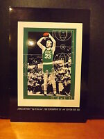 1992 Larry Bird HOF Boston Celtics James Anthony Serigraph PROMO Top of the Line