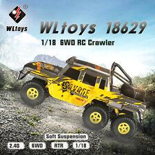 Wltoys 18629 1/18 2.4G 6WD Electric Off-Road Rock Crawler Climbing RC Buggy Car