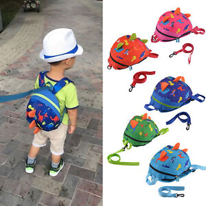 Cartoon Baby Toddler Child Dinosaur Safety Harness Strap Bag Backpack With Reins