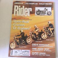 Rider Magazine 750 V-Twin Comparo Suzuki Intruder October 1989 060117nonrh3