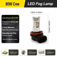 Ford Focus 2013-2014 led Fog driving light bar high power CREE 80W 16SMD lamps