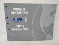 2013 Ford Fusion Mkz Wiring Diagrams Ewd Oem Ebay