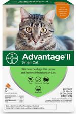 Advantage Ii Flea Spot Treatment for Cats,5-9 lbs-Ferrets-6 Doses (6-mos.supply)
