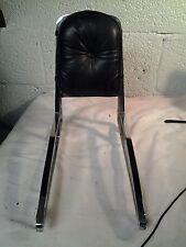 harley sissy bar with a back rest pad chopper bobber custom dyna lowrider #3261