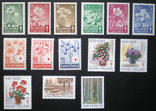 Finland 1949 - 1982 MNH 6 complete sets - Flowers and nature