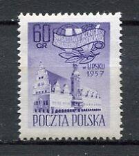 35639) POLAND 1957 MNH** Trade Union Cong., Leipzig 1v