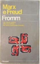 J 9300 LIBRO MARX E FREDU DI ERICH FROMM 1978