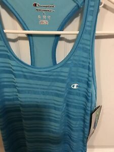 Womens Racer Back Top . Champion Size S/P  NWT
