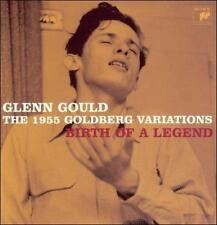 Glenn Gould CD Box 1955 Goldberg Variations Birth Of A Legend