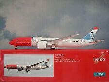 Herpa Wings1:500  Boeing 787-9  Norwegian G-CKNA  530170-001  Modellairport500