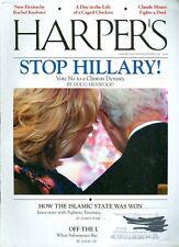 2014 Harper's Magazine: Stop Hillary - Vote No to a Clinton Dynasty/Islamic Won