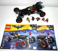 LEGO 70905 Batman Movie The Batmobile with instructions - no box- 100% compl.