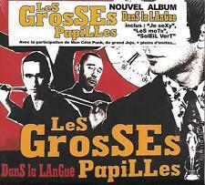 CD Album: Les Grtosses Papilles: Dans la Langue. Prod Spec. A3