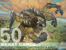 50X Beast Cards (Includes Rares!) MTG Magic  50 Card Lot Collection Deck-