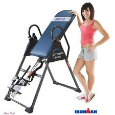 Inversion Table Exercise Training Equipment Highest Weight Capacity Fitness New