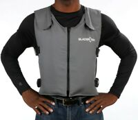 Original Cool Vest Bundle Grey Banox® FR3 with Nontoxic Cooling Packs + Spare
