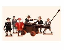 Tradition 6-10 Military Personnel Vintage Toy Soldiers