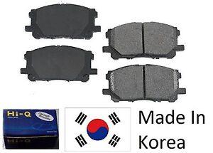 Front Ceramic Brake Pad Set For Suzuki SX4 2007-2008