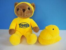 11 Inch Peeps Bear with Matching Yellow Peep Chick