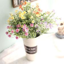 Artificial Wild Small Daisy Chrysanthemum Plastic Flower Wedding Xmas-Decor v