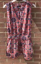 Woman's Red Mango Sleeveless Causal Day Dress Size Xs