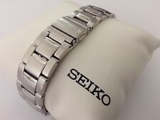 SEIKO GENUINE NEW CHRONOGRAPH 20MM STAINLESS STEEL BRACELET - SNA273 - 32R9ZB