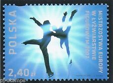 2007 Polen 4299 EK kunstschaatsen / EC figure skating