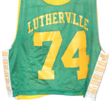 Vtg LUTHERVILLE LACROSSE Practice Jersey LAX Baltimore MARYLAND Rare TEAM ISSUE